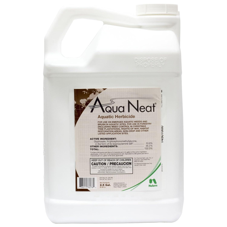 Amazon com : nufarm AquaNeat Aquatic Glyphosate Herbicide