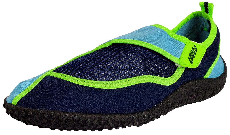 AQUA-SPEED Aqua Zapatos - Zapatos De Agua Para La Playa - Mar - Lago -  Zapatillas Ideal Como Protección ... 3f9c23631f6