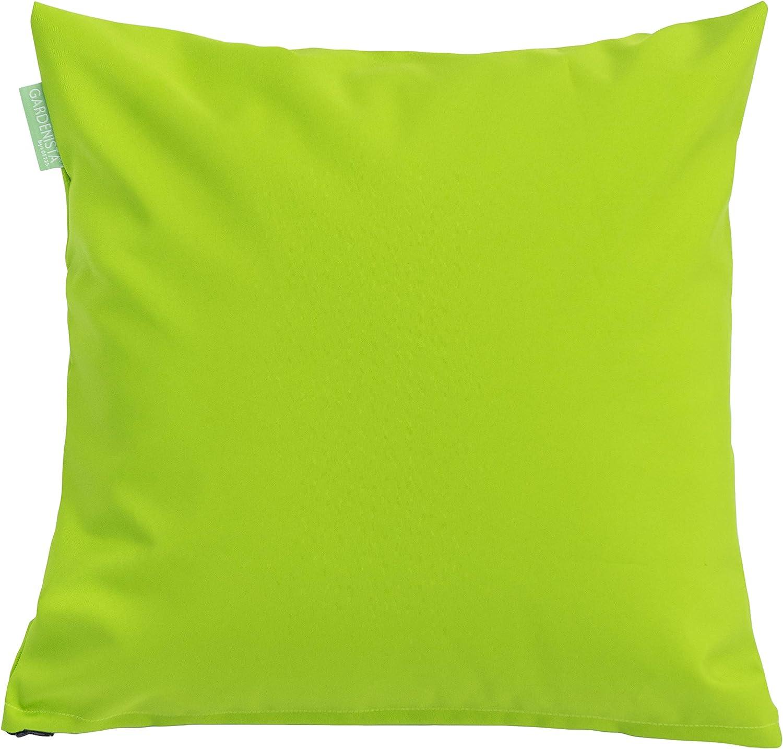 Cuscino Impermeabile Per Esterno Imbottito Da 45.7cm In Verde Lime 4 Nel Pacco