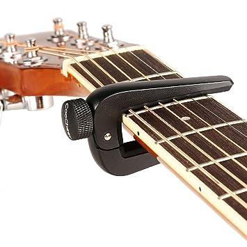 COOCHEER ajustable aleación de zinc Konb guitarra Capo para 6/12 ...