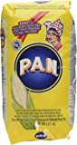 Harina PAN Pre-Cooked White Maize Flour, 1 kg