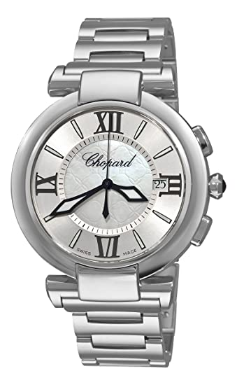 Chopard 388531-3003 - Reloj para hombres, correa de acero inoxidable color plateado: Amazon.es: Relojes