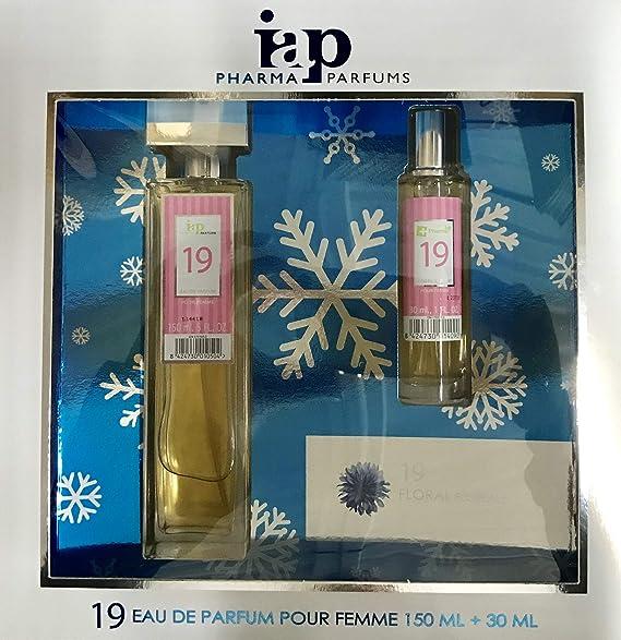 Pack de perfume 150 ml + 30 ml iap perfume nº 19 eau de parfum mujer estuche de regalo: Amazon.es: Belleza