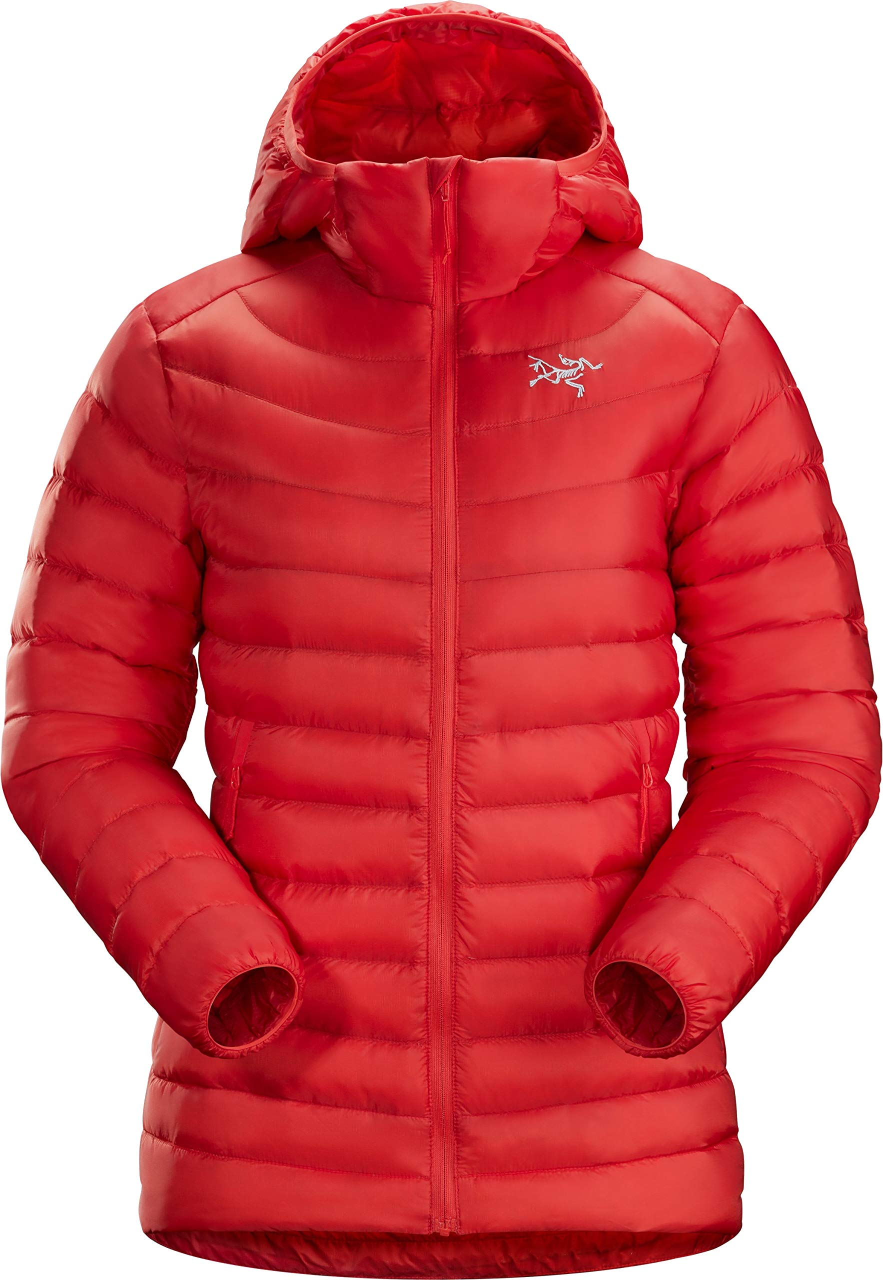 Arc'teryx Cerium LT Hoody Women's (Hard Coral, Large) by Arc'teryx