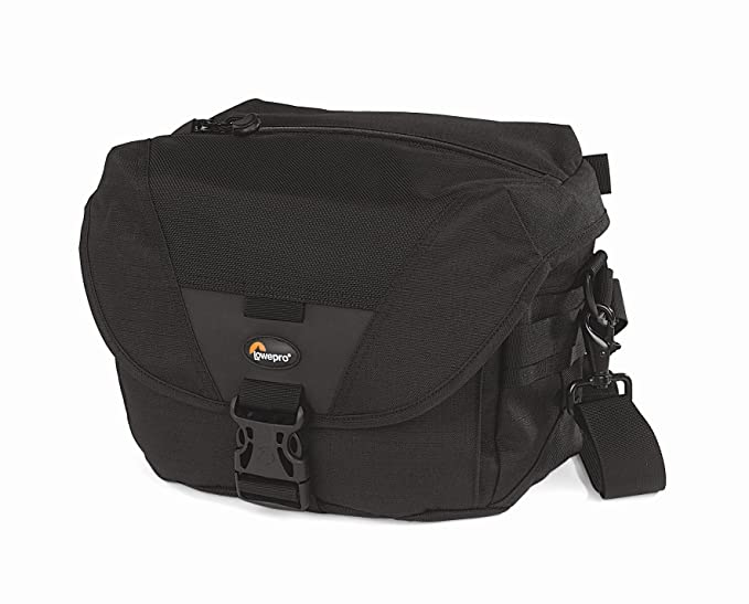 Lowepro Stealth Reporter D100 AW - Bolsa con compartimientos para cámaras, Negro