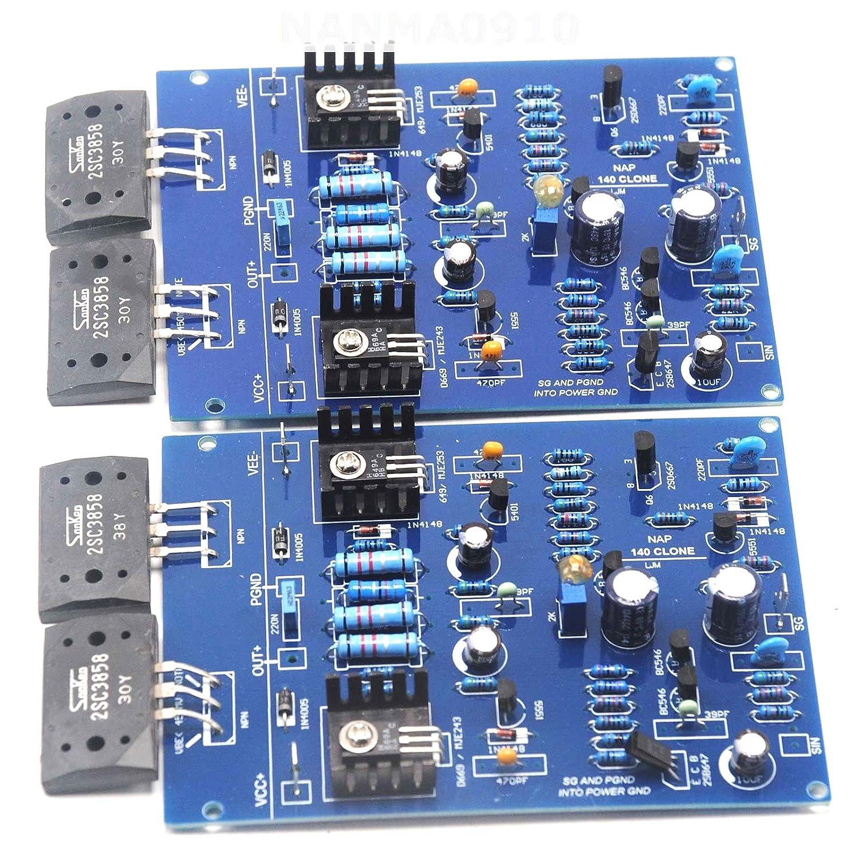 Amazon com: DIY Kits for NAIM NAP140 Clone Dual Amplifier Board w