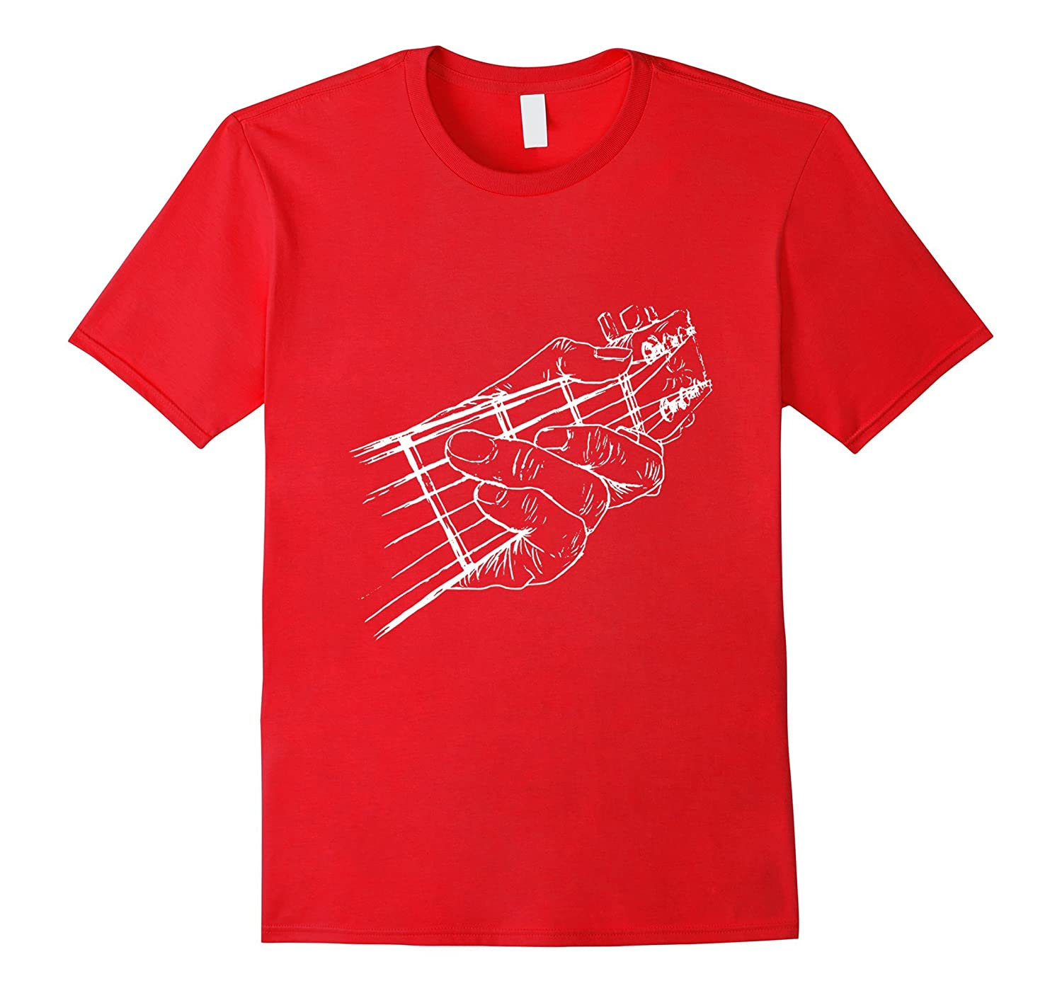 Acoustic Guitar T-Shirt Cool Musician Tee-TJ