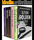 Alison Golden Mystery Sampler: 5 Book Box Set