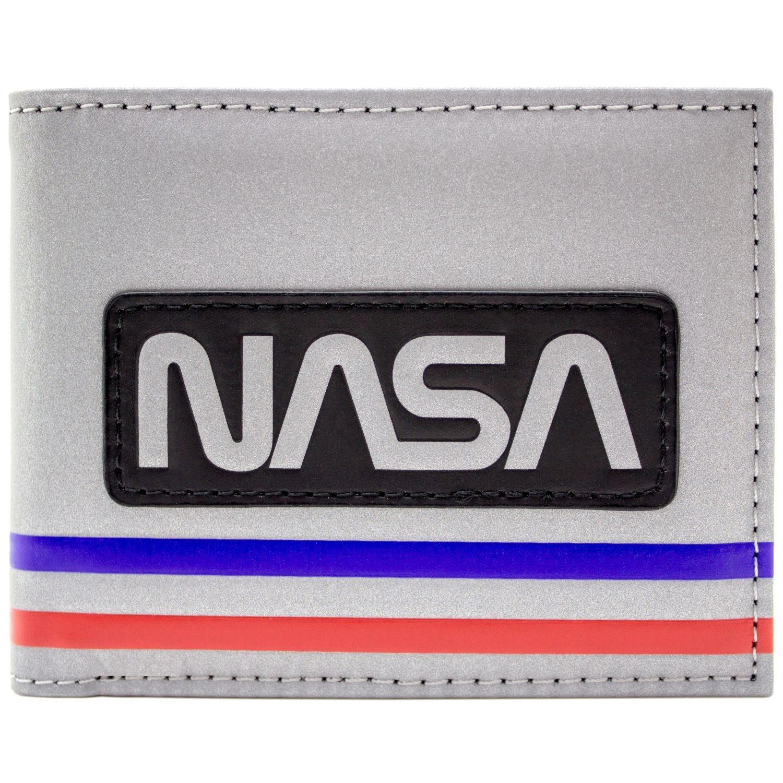 NASA Astronaute Spatiale Costume Style Argent Portefeuille 30824