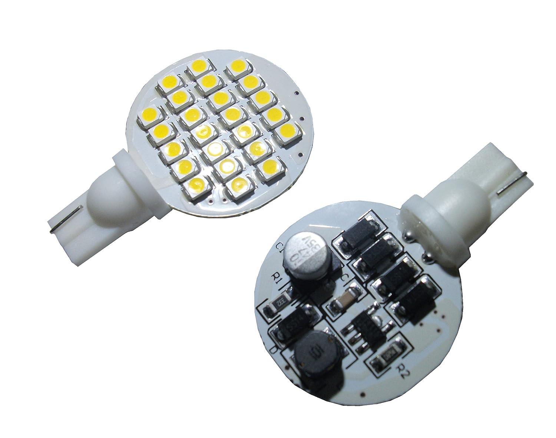 Amazon.com: Grv T10 921 194 24-3528 SMD LED Bulb lamp Super Bright ...