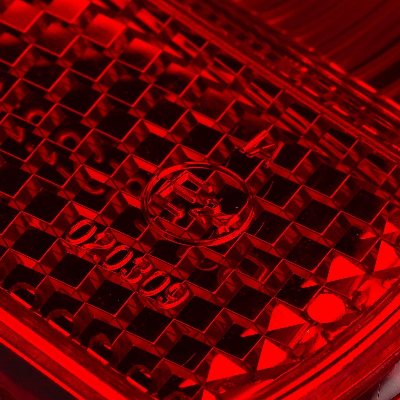 MZA R/ücklichtkappe rund /Ø120mm mit KZB KR51//2 Schwalbe SR80 S83 SR50 S70 Simson S50 S51 S53 rot