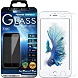 [BEGALO] iPhone 7 Plus / 6 Plus/iPhone 6s Plus ガラスフィルム 0.33mm 硬度9H 日本製素材 飛散防止 指紋防止 高感度タッチ 3Dtouch対応 気泡ゼロ 自己吸着 高透過率 2.5D ラウンドエッジ加工