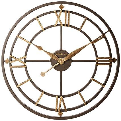 Amazon Com Howard Miller 625 299 York Station Wall Clock Home