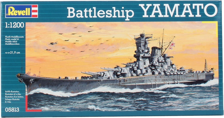 Revell Yamato Model Kit