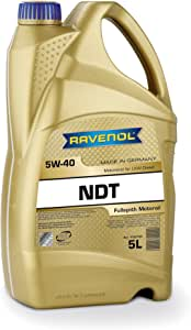 RAVENOL J1A1802 NDT 5W-40 Fully Synthetic Heavy Duty Diesel Motor Oil API CJ-4 / SM