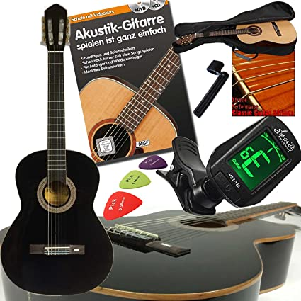 Alta calidad Andaluza Concierto Guitarra clásica 4/4 en color ...