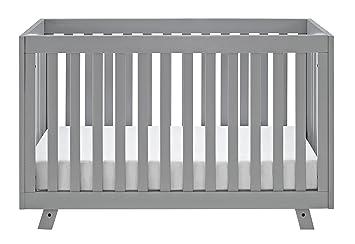 Storkcraft Beckett 3 In 1 Convertible Crib, Pebble Gray