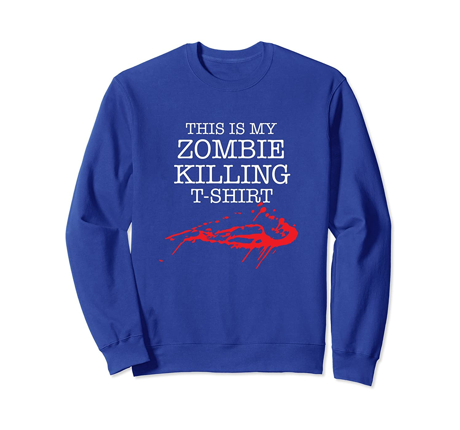 Zombie Killing Halloween Sweatshirt-ANZ