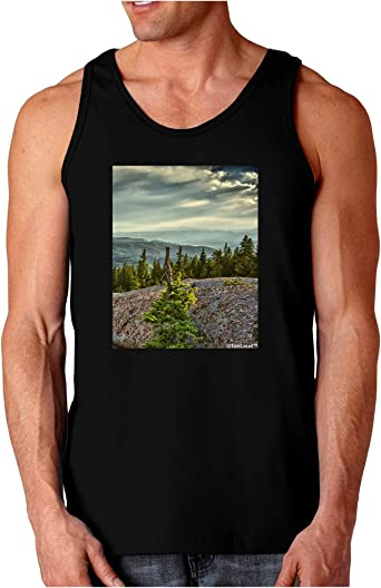 TooLoud Nature Photography Pine Kingdom Muscle Shirt
