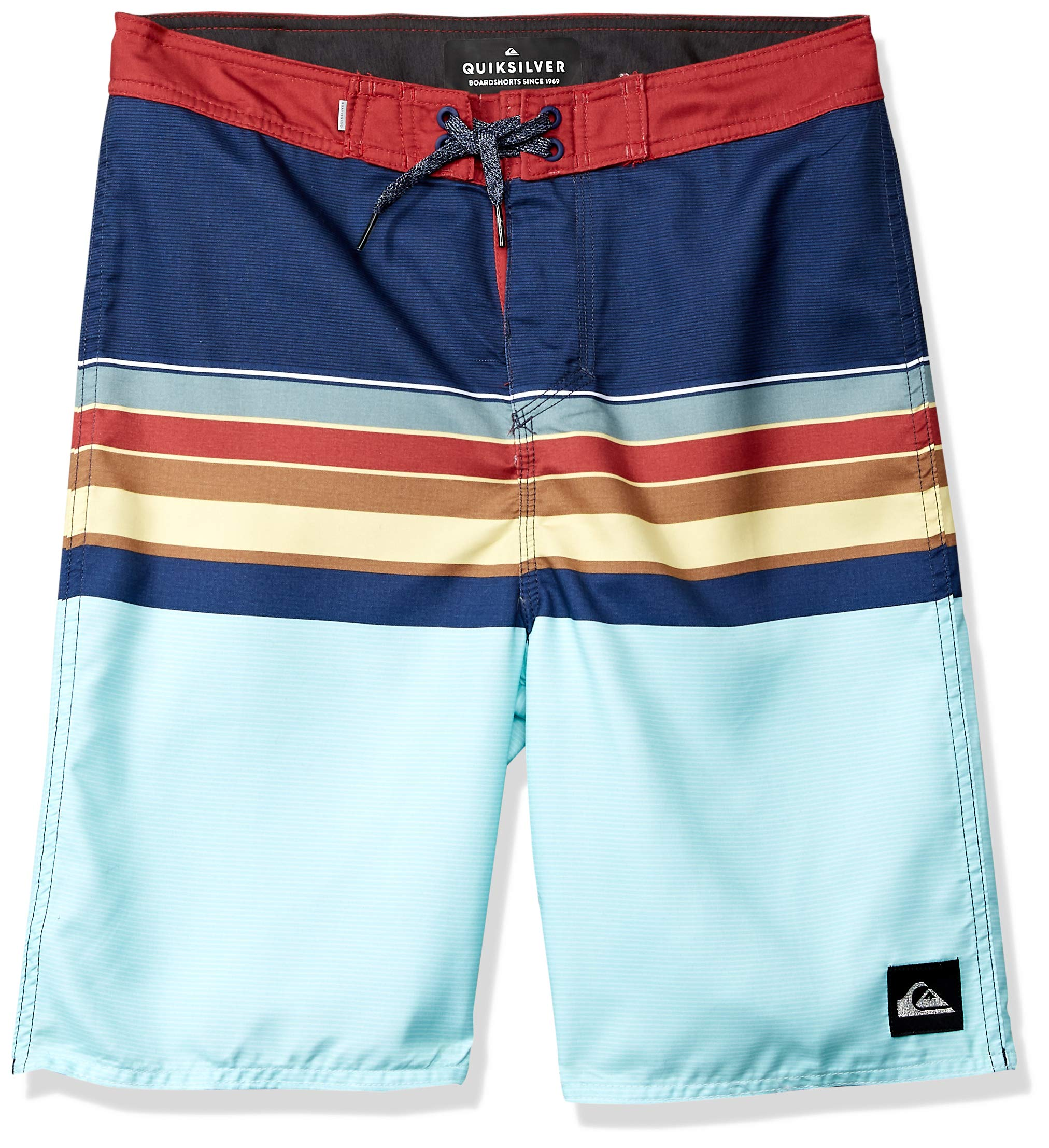 Quiksilver Boys' Big' Everyday SWELL Vision Youth 18 Boardshort Swim Trunk Blue Night 29