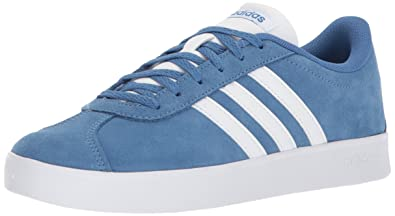 huge discount 76a4c e3fe3 adidas Kids  VL Court 2.0, Trace Royal White Grey Two, 3