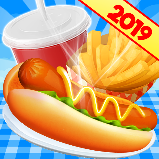 Cooking Games Restaurant Chef: Kitchen Fast Food Fever (Cooking Games For Kindle Fire)