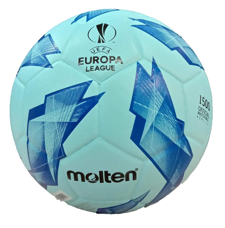 Molten F9U1500 - Balón de fútbol de la UEFA, Color Azul: Amazon.es ...