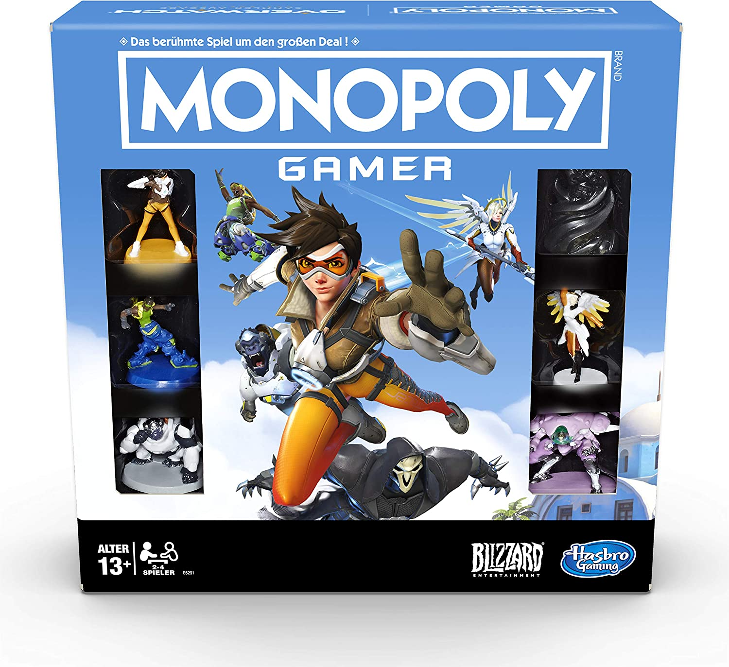 Hasbro Overwatch Board Game Monopoly Gamer *English Version* Games Accessories: Amazon.es: Juguetes y juegos