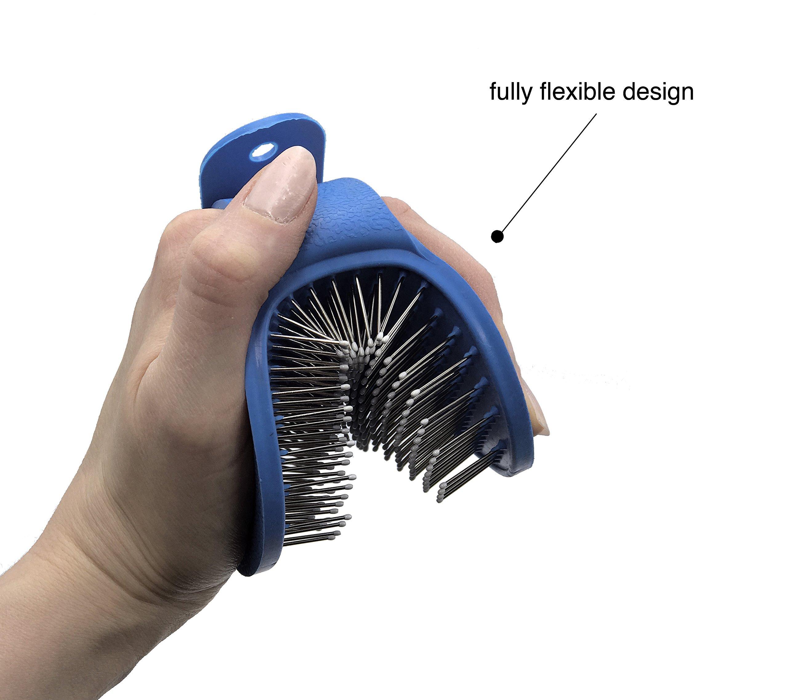 Dasksha Rabbit Grooming Kit Rabbit Grooming Brush The Best Rabbit Hair Brush Rabbit Hair Remover by Dasksha (Image #4)