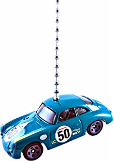 Hot Wheels Porsche Diecast Ceiling Fan Light Pull Ornaments 1/64 (Porsche 356A Outlaw