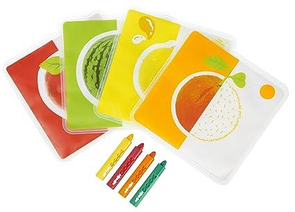 Coloriage Bain Bebe.Tigex Cartes De Bain A Colorier Amazon Fr Bebes Puericulture