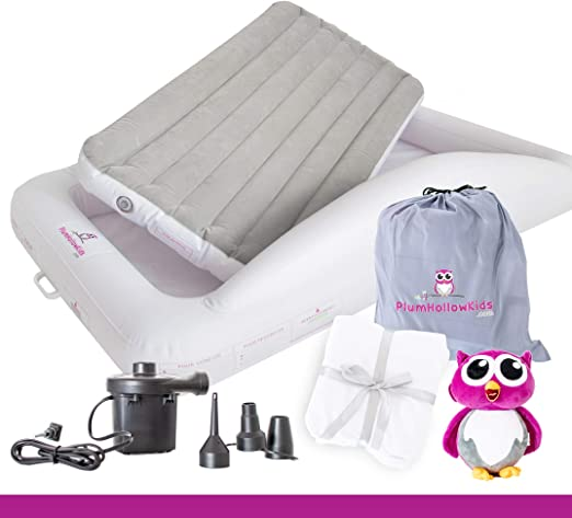 Amazon.com: Plum Hollow Kids - Cama hinchable para niños ...