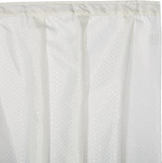 Carnation Home Fashions Lauren Dobby Fabric Sink Skirt 56 Inch By 32