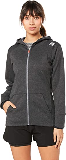 TALLA 10. Canterbury Vaposhield Zip Through - Sudadera con Capucha Mujer