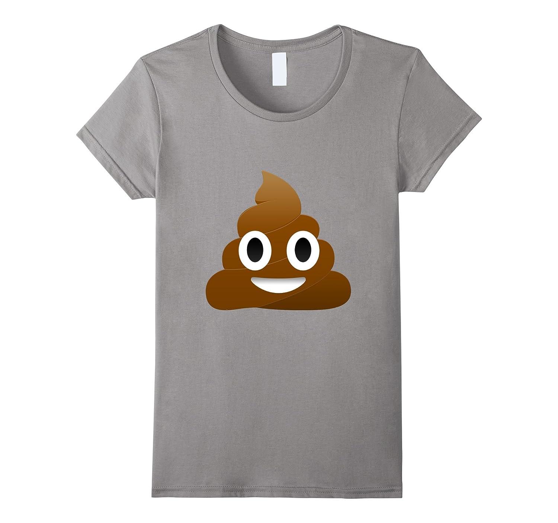 Poop, Pile of Poo, Smiling Poop Emoji T-shirt