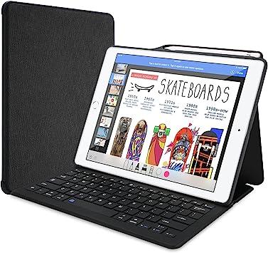 ProCase Funda con Teclado y Portalápiz para iPad Pro 12,9