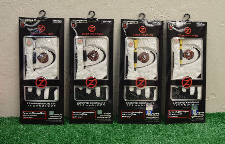 Friction 4 Zero メンズ 右手 ユニバーサルゴルフグローブ - フロリダステイトセミノール - ホワイト   B07K6W9PGL