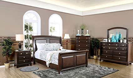 Amazon.com: New Casual Contemporary Master Bedroom Furniture ...