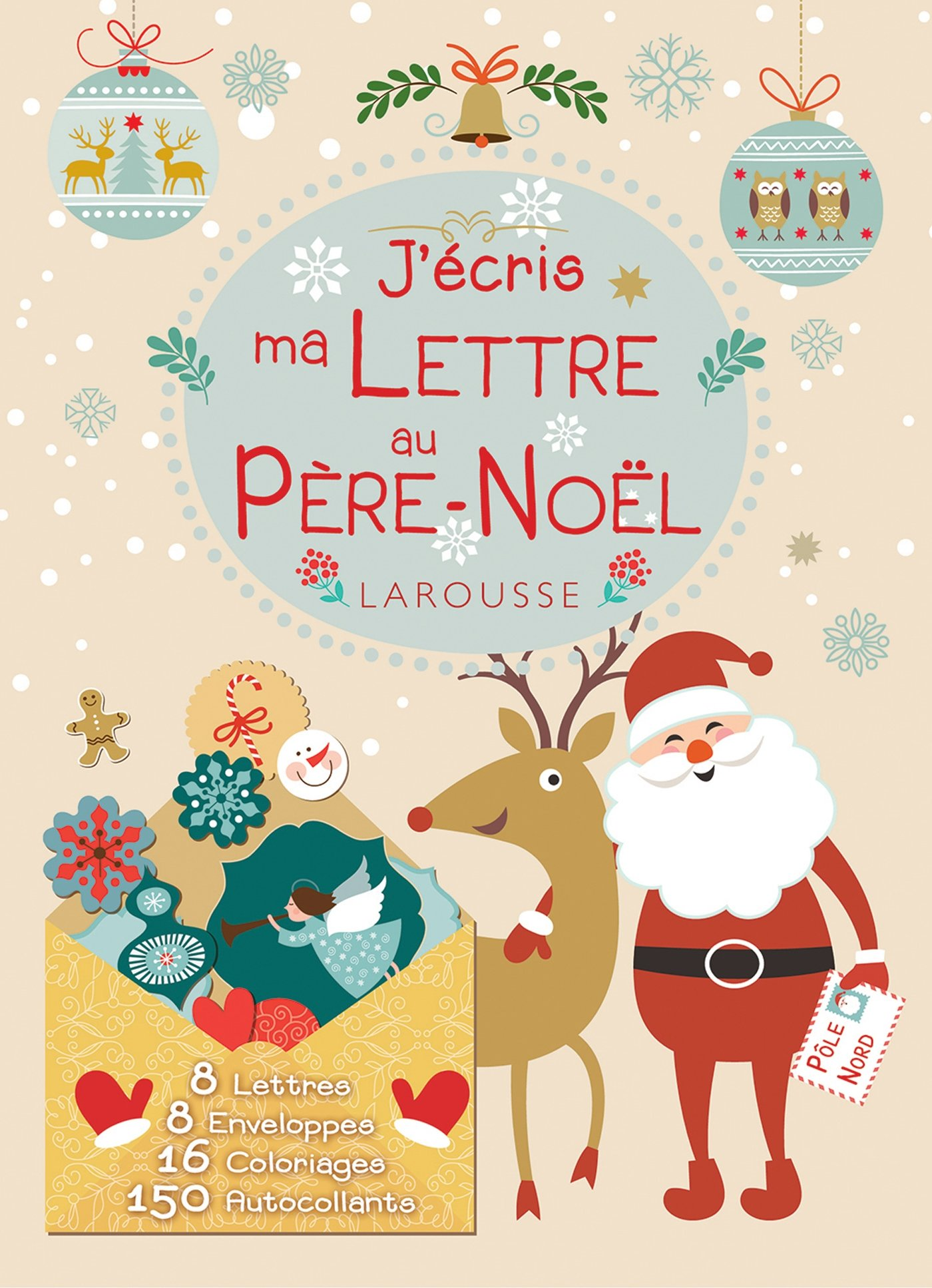 Liste Au Pere Noel Amazon.in: Buy J'ecris ma lettre au pere Noël Book Online at Low