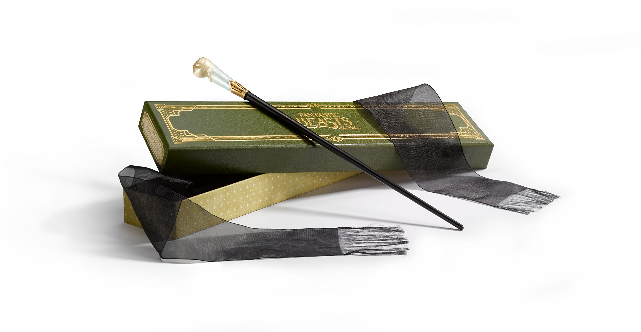 The Wand of Queenie Goldstein with Collector's Box