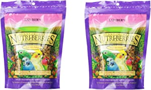 (2 Pack) Lafeber'S Gourmet Sunny Orchard Nutri-Berries For Cockatiels 10-Ounce Bag