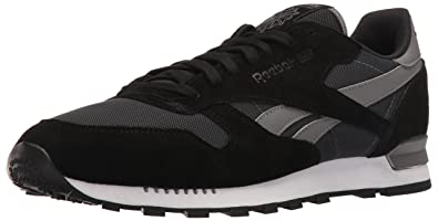 Reebok Mens CL Leather Clip Ele Fashion Sneaker  2GOQAIQ79
