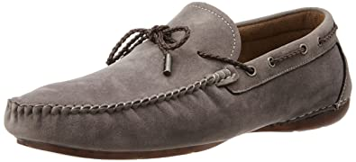 6ee3cdd8952d9 Image Unavailable. Image not available for. Colour: BATA Men's Qmars Grey  Loafers ...