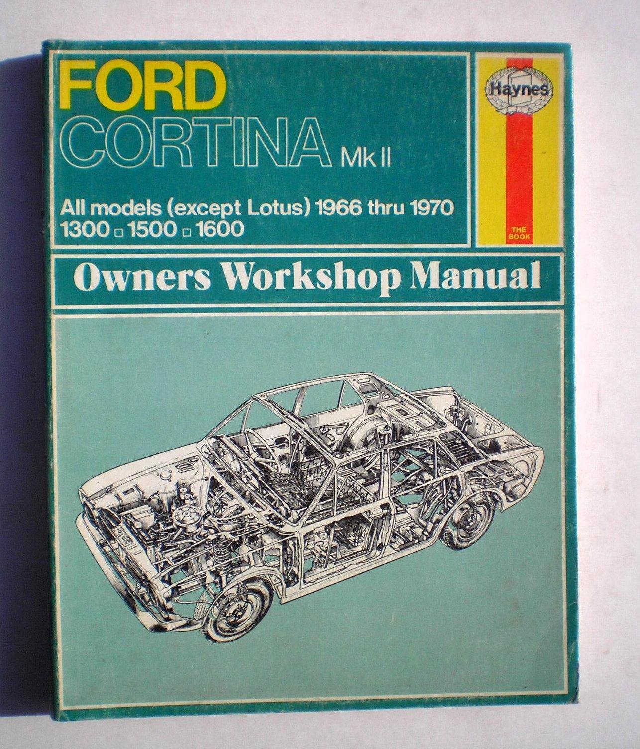 ford cortina mark 2 owner s workshop manual amazon co uk j h