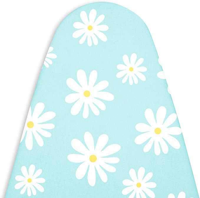 Cheng Yi 50 Padded Ironing Board Cover,Composite Cotton Fabric Thick Felt Pad Heavy Duty Heat Resistance Scorch /& Stain Resistant,Basic/&Standard Durable Ironing Board Replacement Cover CYFC840