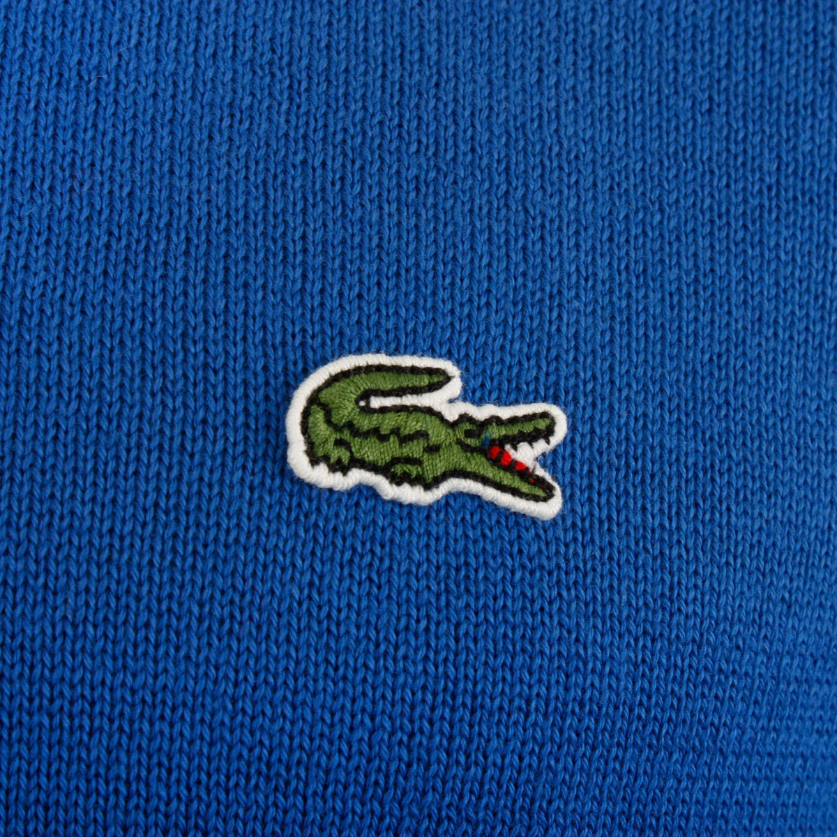 197fb18eee31dc Lacoste AH7418 Crew Neck Jumper Blue 6 Blue  Amazon.co.uk  Clothing