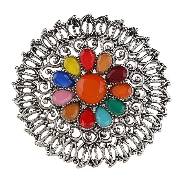 Amazon.com: Efulgenz Boho Floral Multicolor Vintage Gypsy ...