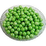Gumballs Glimmer Green Bubble Gum 2 Pounds 0.5 inch Mini Gumballs