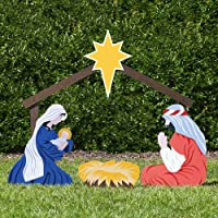 Outdoor Nativity Store Holy Family Outdoor Nativity Set (Color)