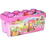 """LEGO DUPLO - Caja Rosa de diversión """"Todo en Uno"""", multicolor (10571)"""
